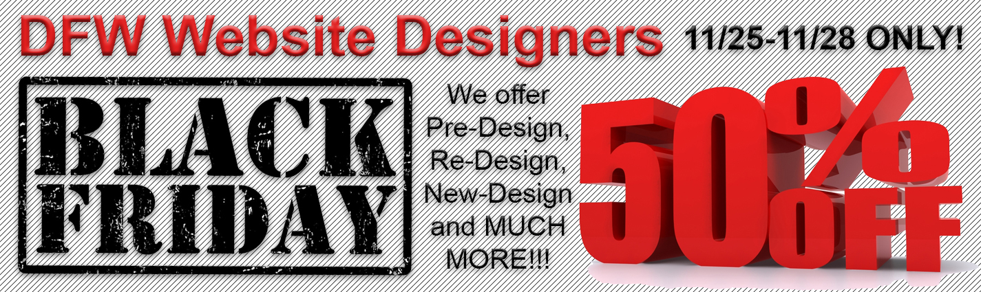 Click for Our Website Packages